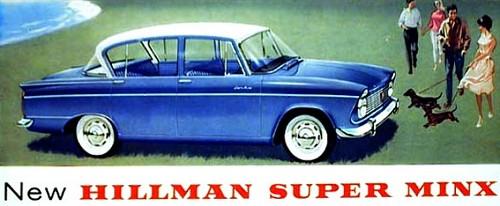 hillman 1961 super minx