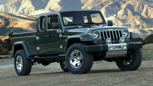 jeep gladiator_static