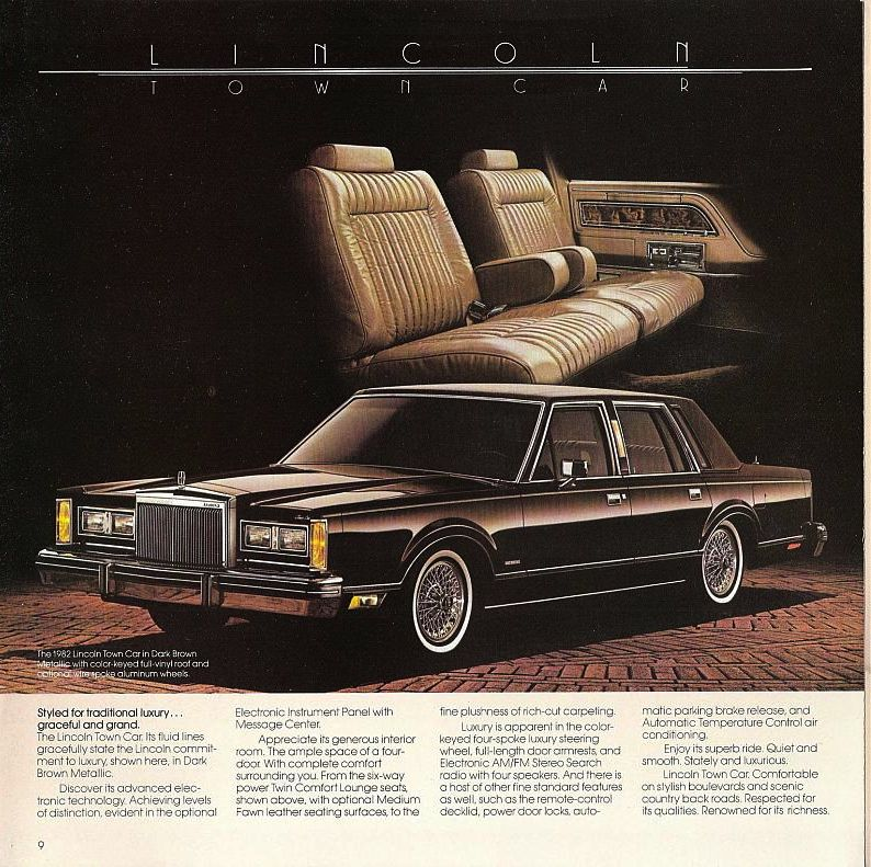 car show classic 1982 lincoln town car honey i shrank the lincoln. Black Bedroom Furniture Sets. Home Design Ideas