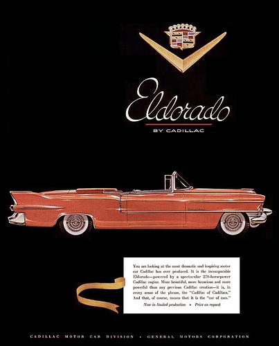 Cadillac 1955 eldo ad 3
