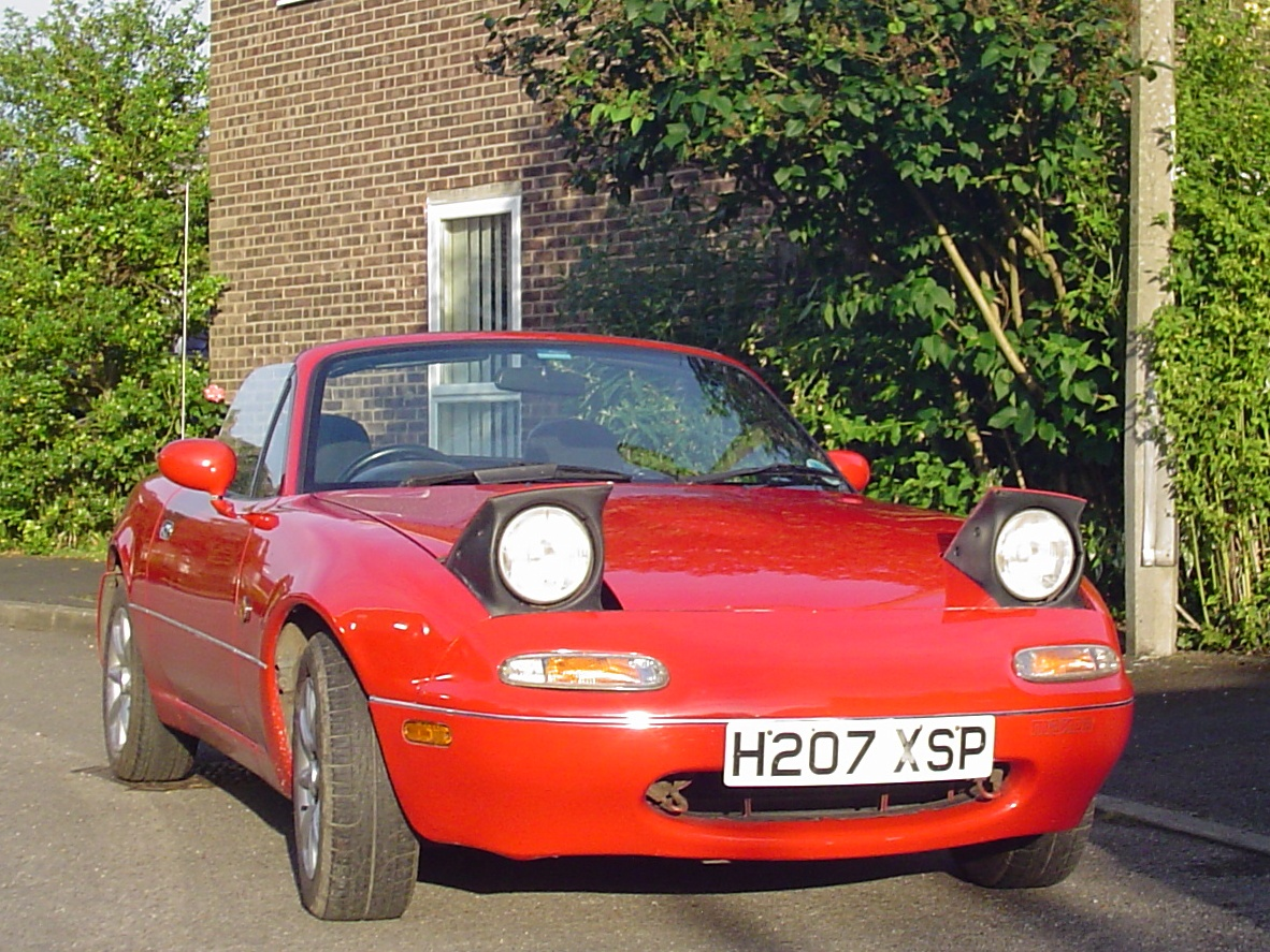 Pop Up Lights Curbside Classic 1990 Mazda Mx 5 Miata Nothing Complicated But