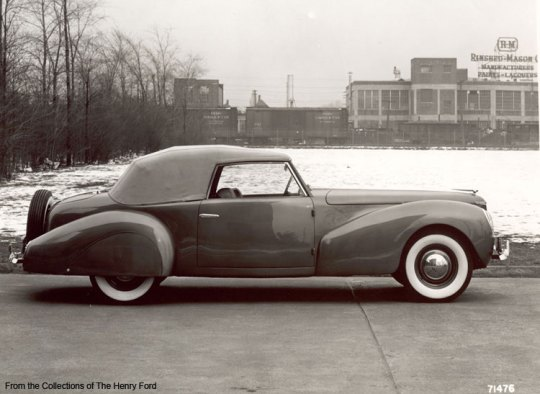 Lincoln Zephyr Continental