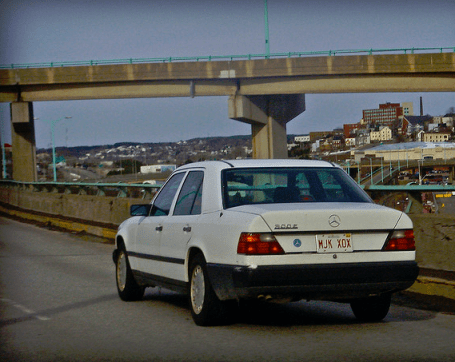 Mercedes W124 freeway