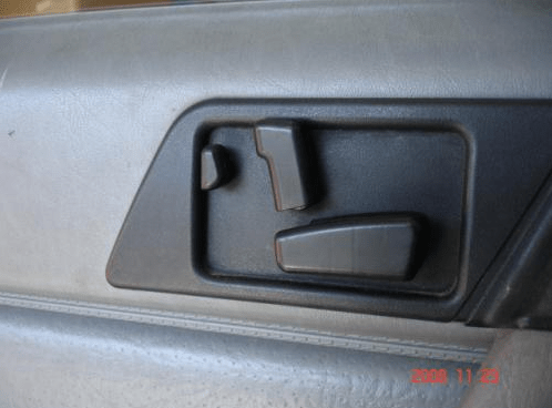 Mercedes W124 seat controller