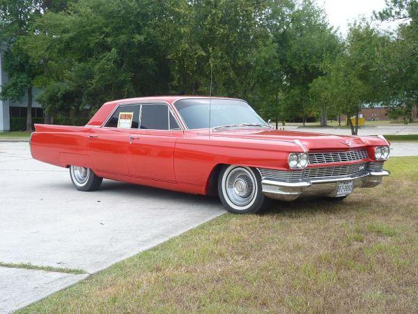 1964 Cadillac front 3_4