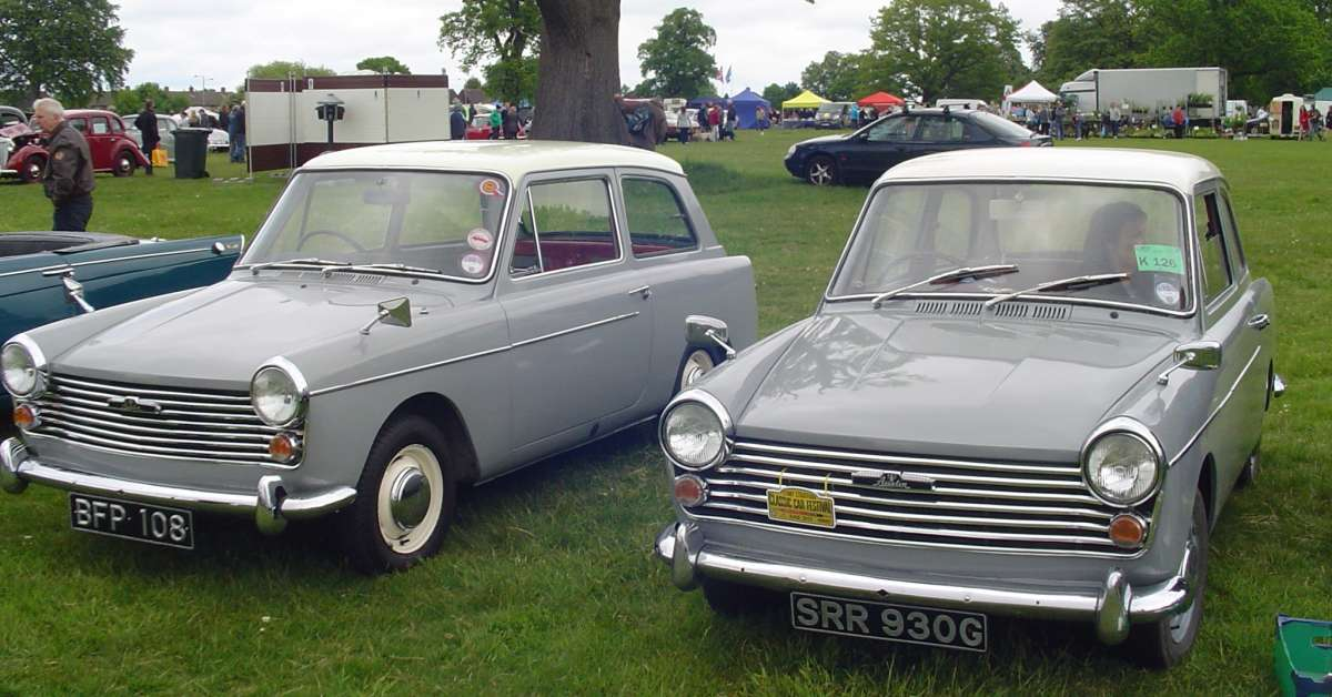 Cc Capsule 1960 And 1968 Austin A40 For Proof That Britain Did