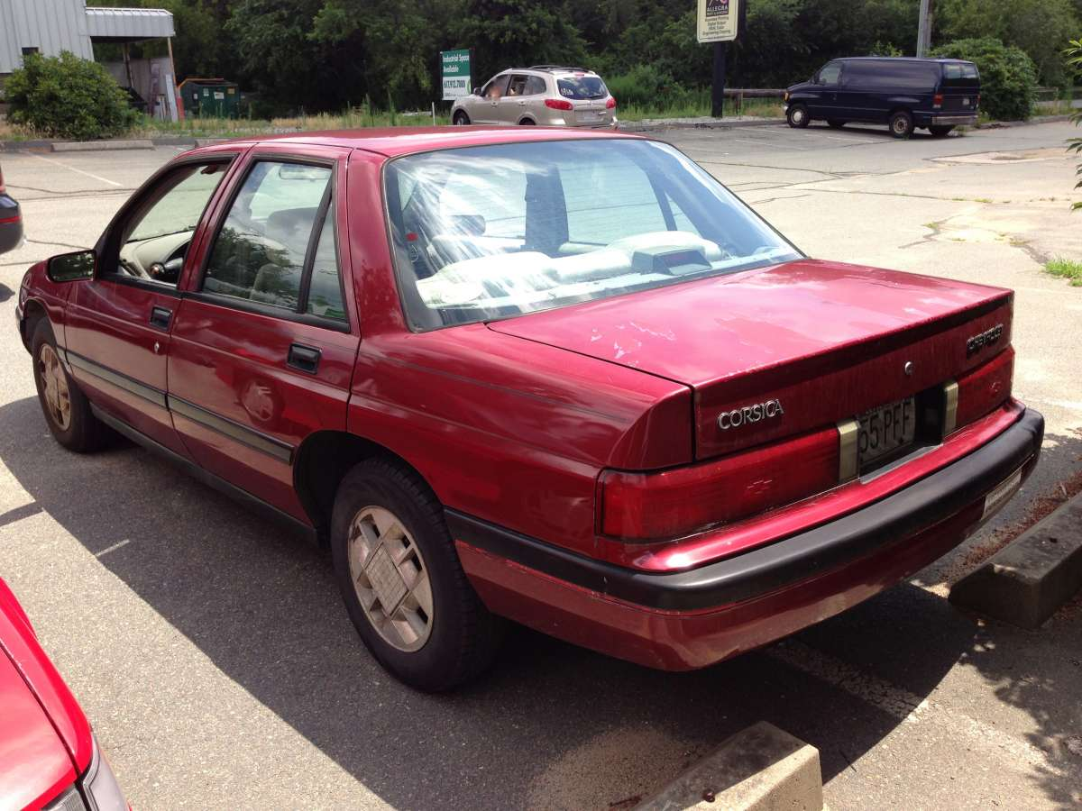 All Chevy 94 chevy corsica : Double Curbside Classic: 1993 Chevrolet Corsica and 1993 Chevrolet ...
