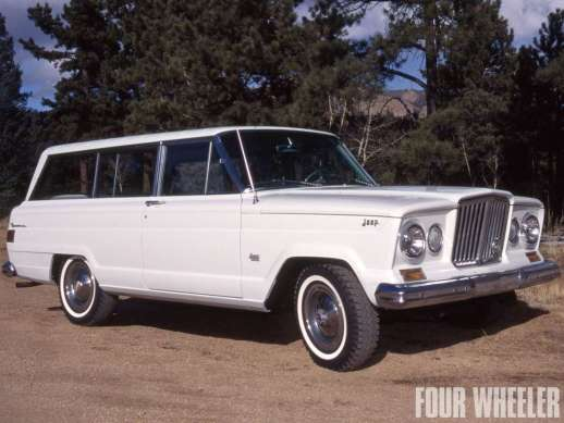 Jeep Wagoneer 1964 two door