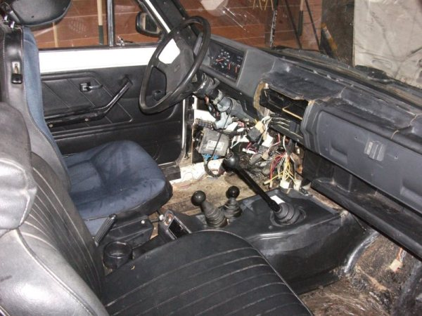 Lada dash before