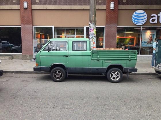 VW T3 pickup side