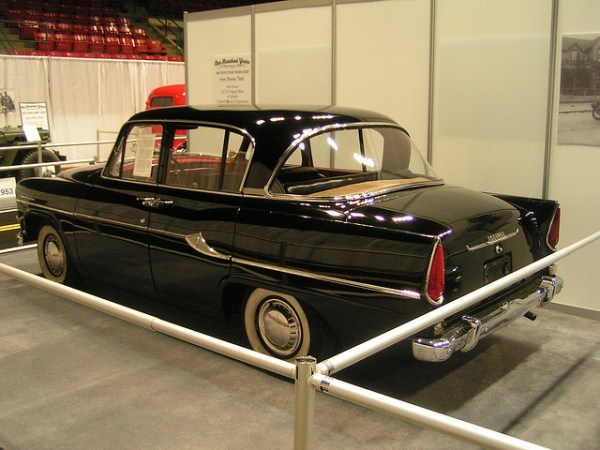1960 Toyota Toyopet Crown Custom rear