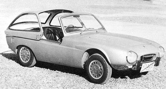 1962 Toyota Publica Sports concept