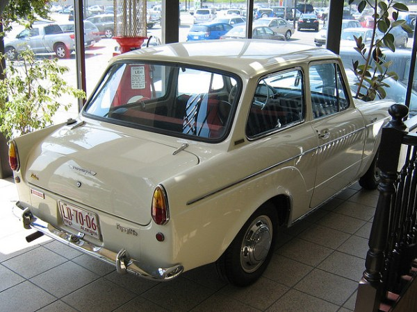 1965 Toyota 700 rear