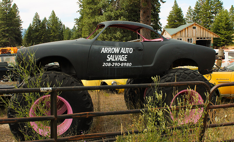 Antique car salvage yards near me