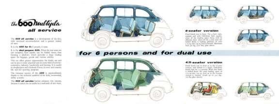 Fiat 600 multipla br