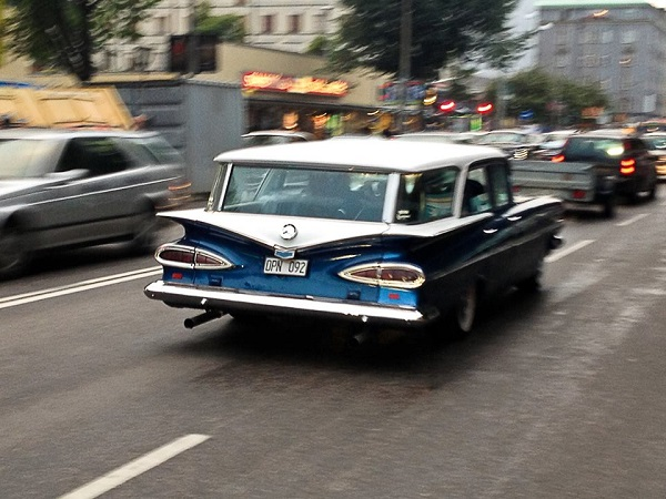14 1959 Chevy Nomad