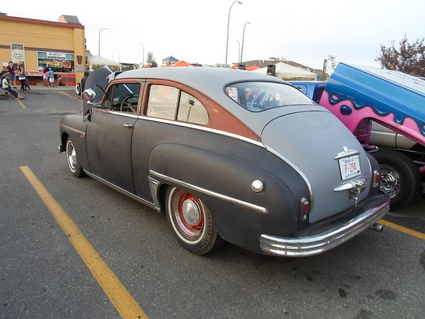 1949 Plymouth Special Deluxe rear