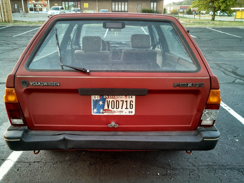 Curbside Classic: 1987 Volkswagen Fox: This German Fox Has A