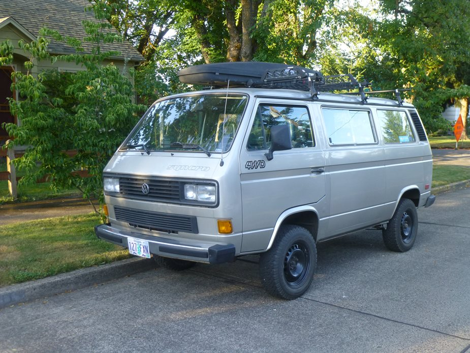 curbside classic vw vanagon syncro t3 so misunderstood. Black Bedroom Furniture Sets. Home Design Ideas