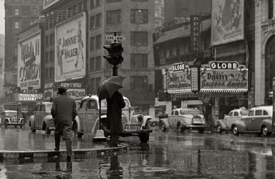 Checkers times square 1941