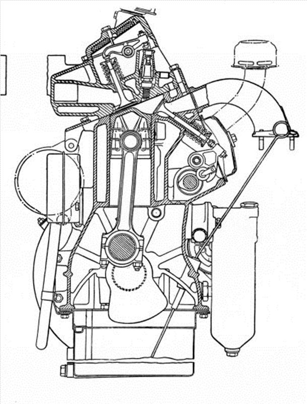 automotive history the curious f head engine f head rover 3 litre