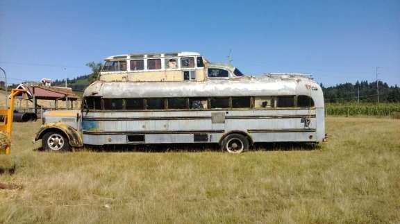 Hippie Bus Ray Charleton