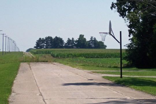 Old US 40/National Road, near Martinsville, Illinois