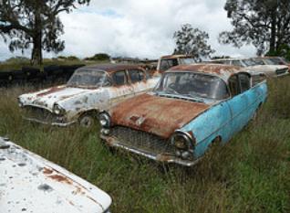 Vauxhall Cresta rusty