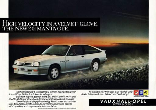 Vauxhall Opel Mnata ad