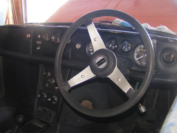 1969 Reliant Scimitar GTE dash