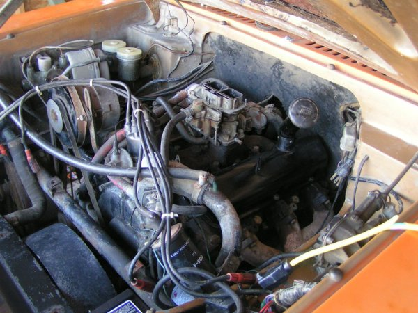 1969 Reliant Scimitar GTE engine