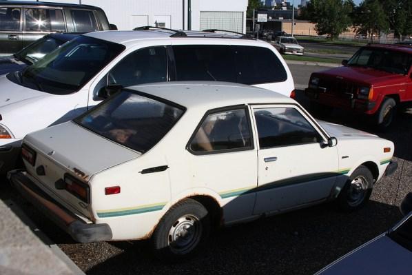 1977 Toyota Corolla rear 1