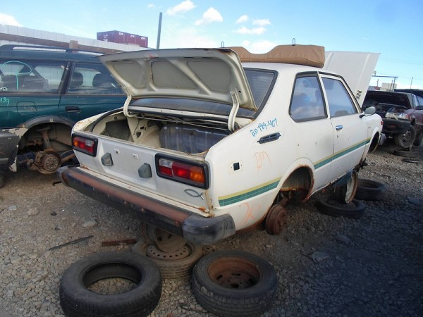 1977 Toyota Corolla rear