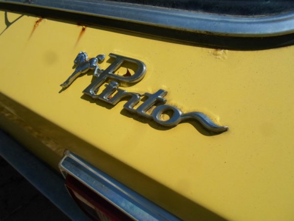 1978 Ford Pinto V6 badge