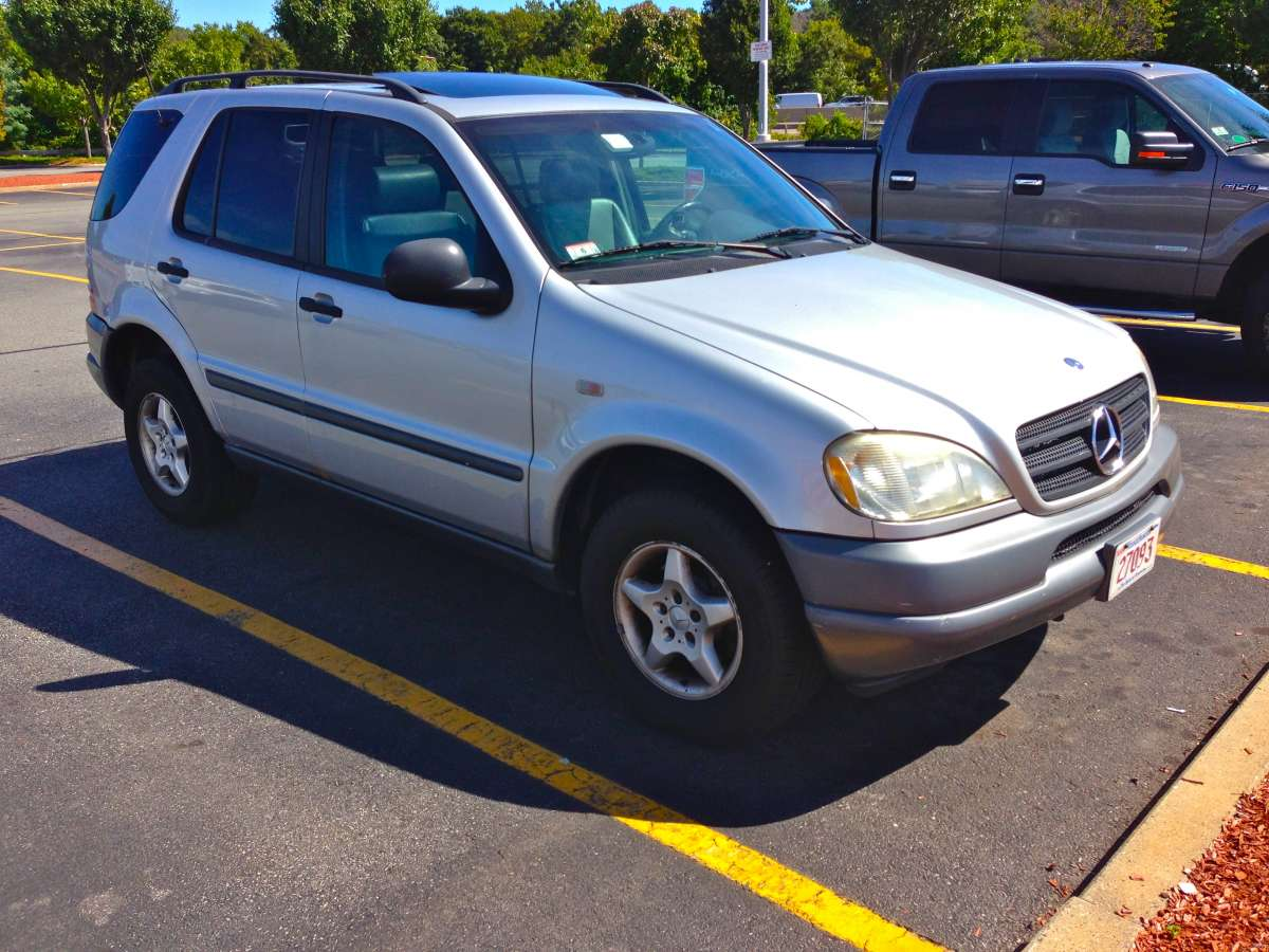 Automotive History Mercedes W163 1998 2005 M Class Conceived In Benz Ml350 Parts Germany Born America