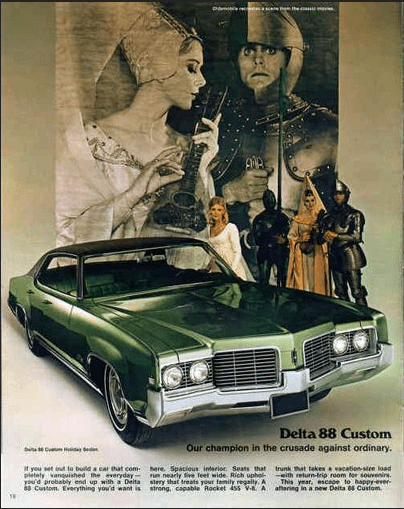 Oldsmobile 1969 Delta 88 custom