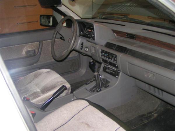 1986 Hyundai Stellar interior