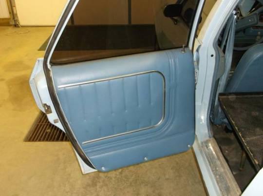 AMC Concord hearse door