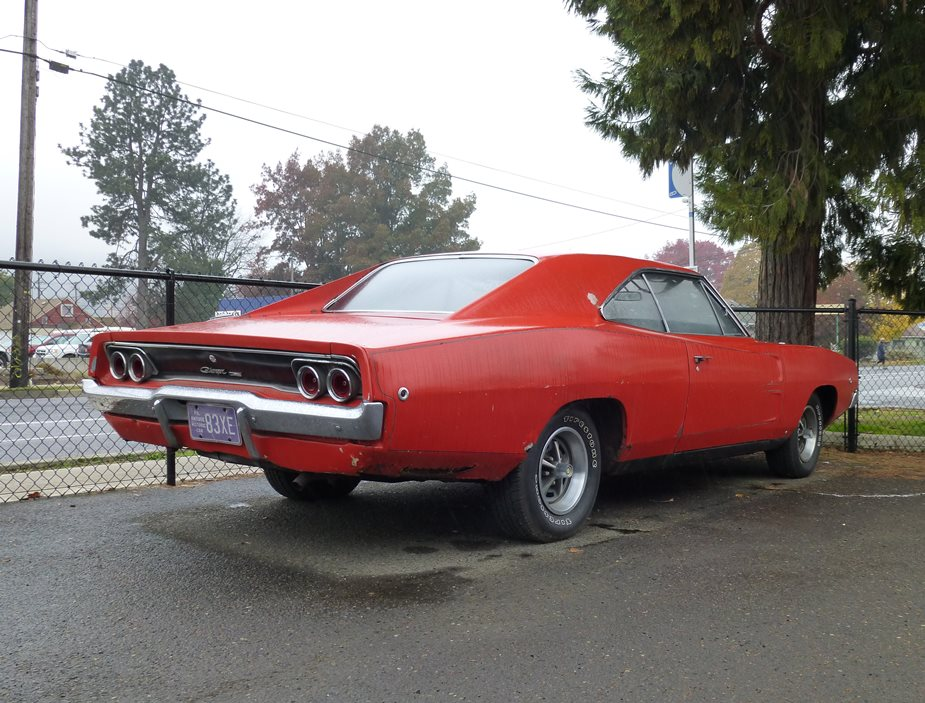 Curbside Classic: 1968 Dodge Charger Six – Rarer Than An (Original ...