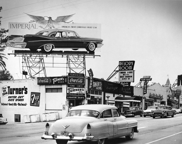 Vintage Photo Gallery Los Angeles In The 50s And 60s