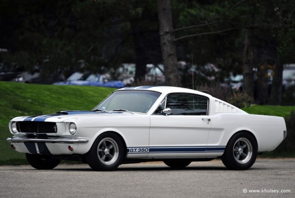 Classic American Muscle Car Photography Stock Image