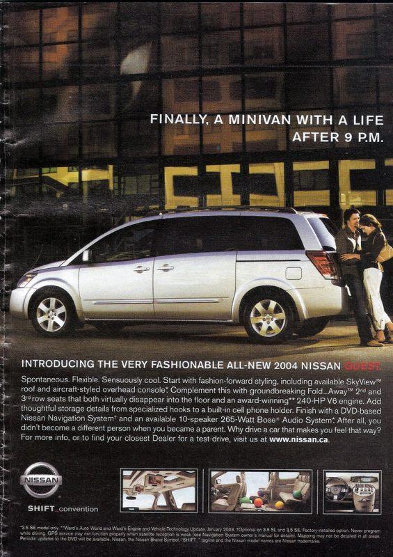 Cars Of A Lifetime 2004 Nissan Quest