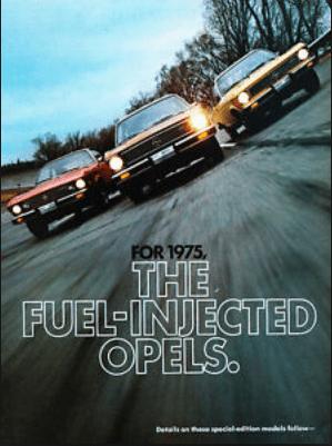 Opel 1975 ad