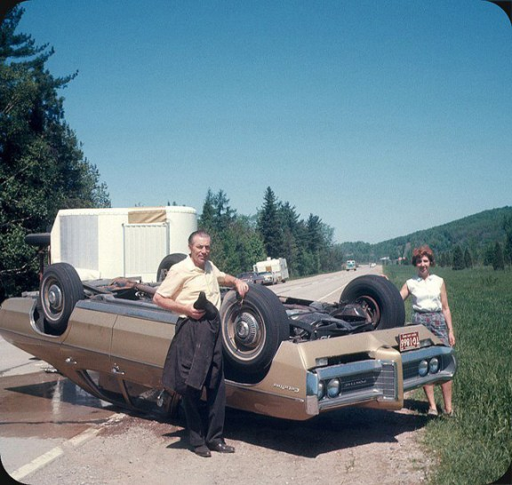 Pontiac Catalina Upside down