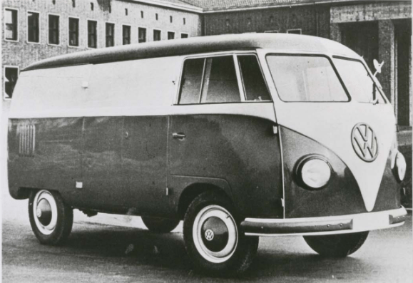VW bus prototype