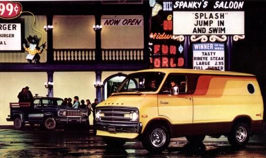 Van dodge-1970s-custom-van