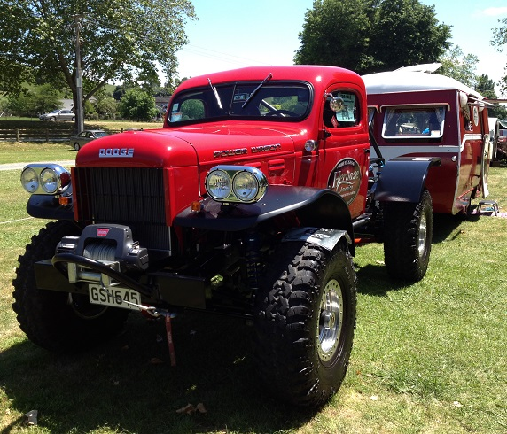 11. 1950 Dodge Power Wagon
