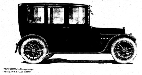 1916 cadillac brougham