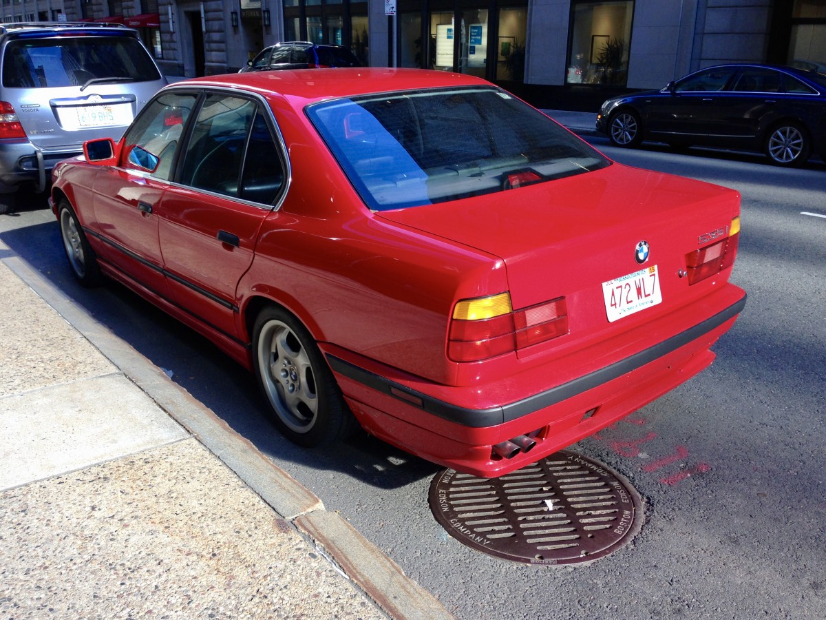 curbside classic: 1992 bmw 525i (e34) – the red bimmer of my