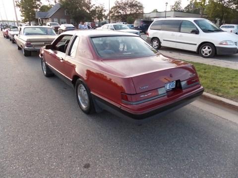 1986 Turbo Coupe in Medium Canyon Red Metallic